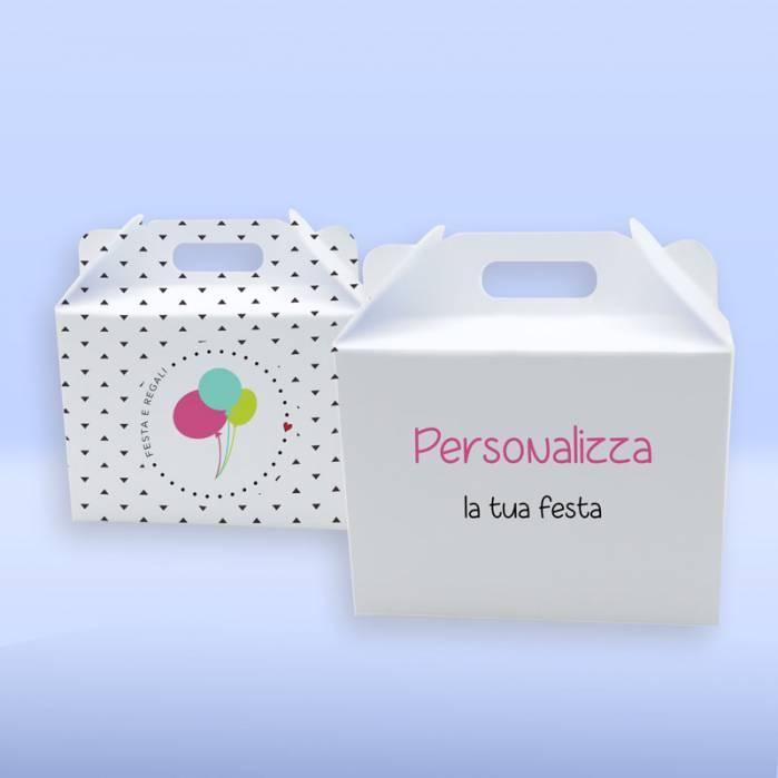 scatola da pic-nic feste personalizzate