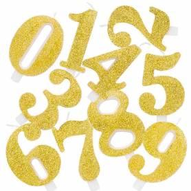 Candele numero oro