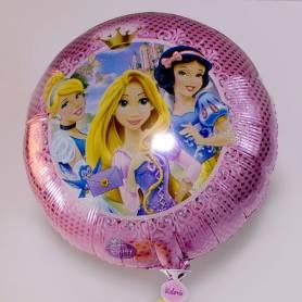 palloncino mylar tondo personaggio princess