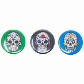 Set 3 spille teschio messicano