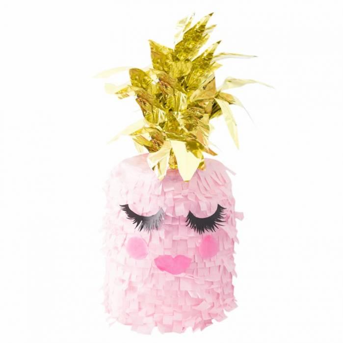 Pignatta ananas rosa