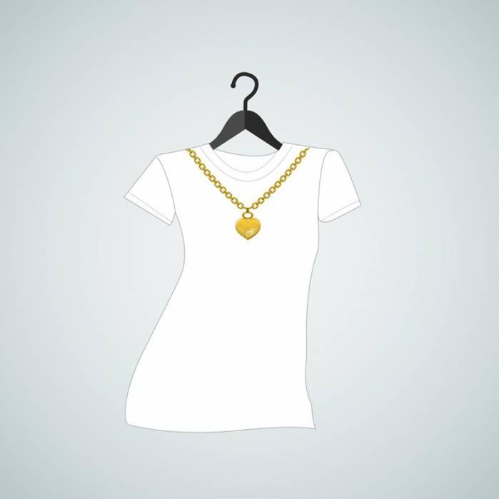 Maglietta Collana Iniziali