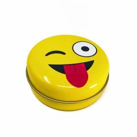 Scatolina in metallo emoji