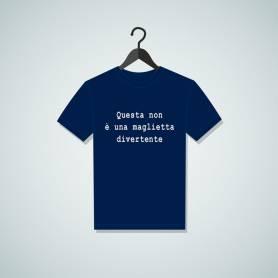 Maglietta non divertente