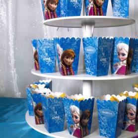 Scatola pop corn piccola personalizzata Frozen