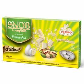 confetti morbido al cioccolato bianco pistacchio mandorla