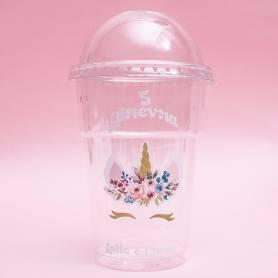Bicchiere personalizzato unicorno
