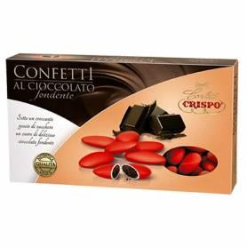 Confetti al cioccolato fondente crispo