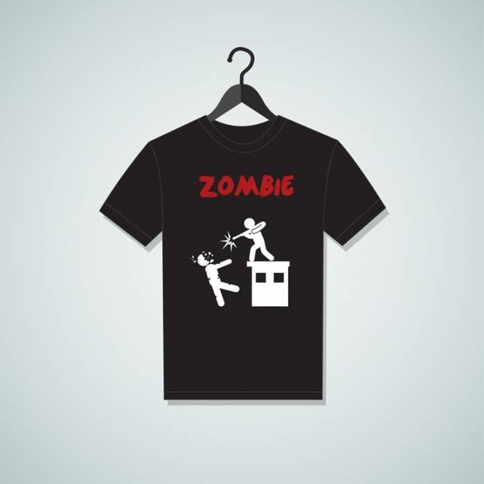 Maglietta Zombie shoot