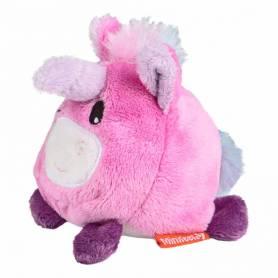 Mini unicorno rosa peluche pulisce schermi