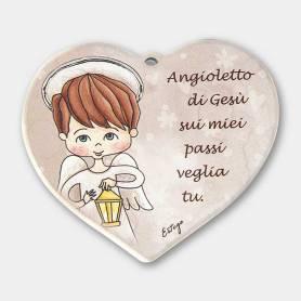 cuore Sui miei passi angelo bambino
