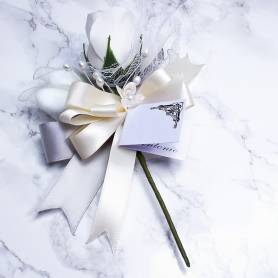 Porta confetti fiore