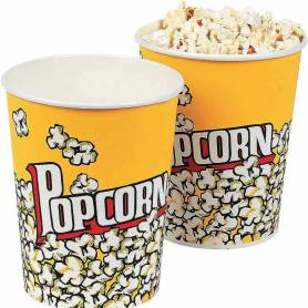 Contenitore pop corn in plastica