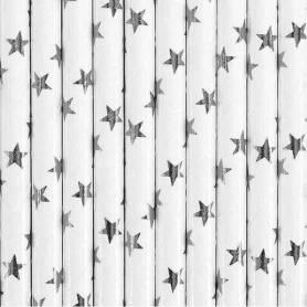 stelle argento lucido