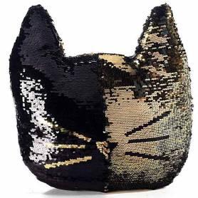 Cuscino gatto Colore nero