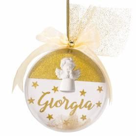 Pallina natalizia a sfera personalizzata