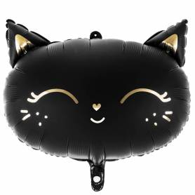 Palloncino mylar gatto nero