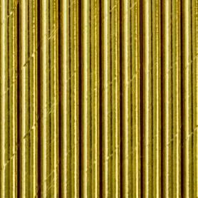 Cannucce di carta oro lucido