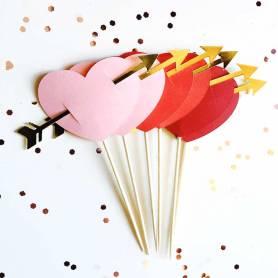 Stuzzicadenti decorativi San Valentino
