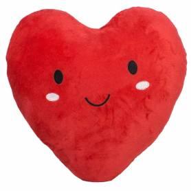 Cuscino cuore faccina