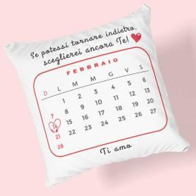 Cuscino personalizzato san valentino
