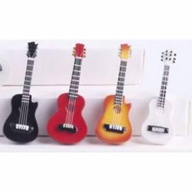 Mini chitarra acustica con calamita colori assortiti