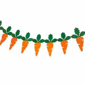 festone carote in carta