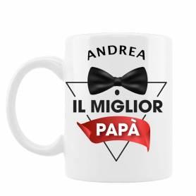 tazza personalizzata il miglior papà