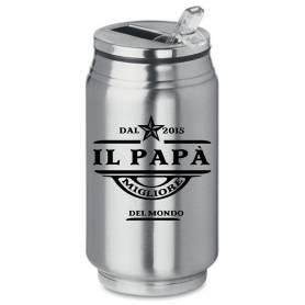 Bicchiere personalizzato data papà