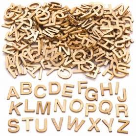 Lettere in legno piccole