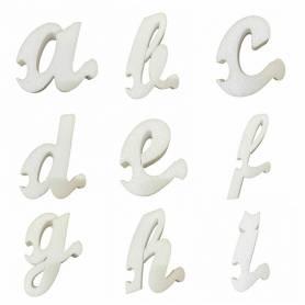 Lettera A B C D E F G H I in polistirolo