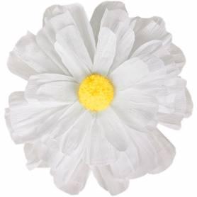 Fiore margherita in carta crespa