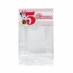 Bustina per caramelle topolino personalizzate