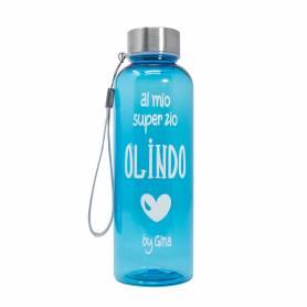 bottiglia tritan personalizzata con frase