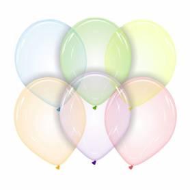 Palloncini bubble trasparenti in lattice