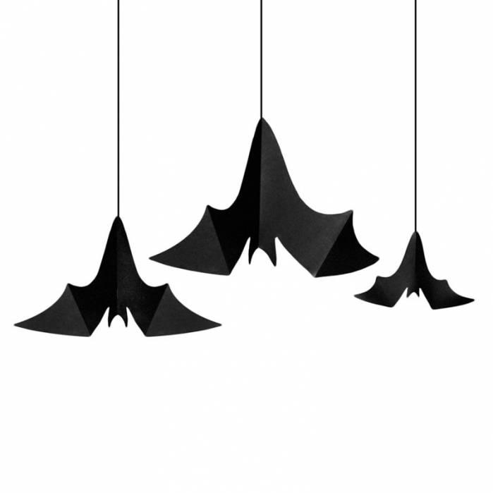 decorazioni pipistrelli da appendere