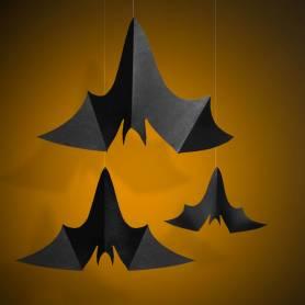 decorazione pipistrello in cartoncino