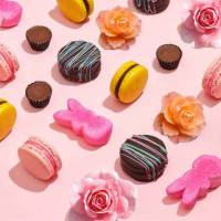 Regalo Rose Stabilizzate Cioccolatini e Dolciumi - Festa e Regali