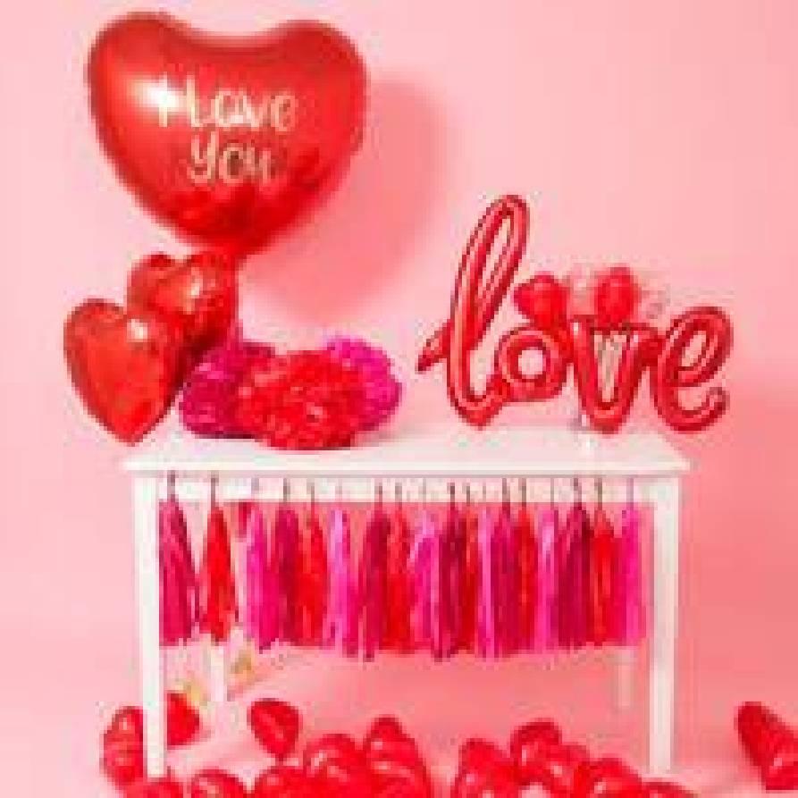 Allestimento San Valentino